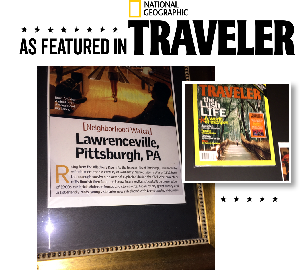 Arsenal Bowl was featured in National Geographic Traveler magazine!